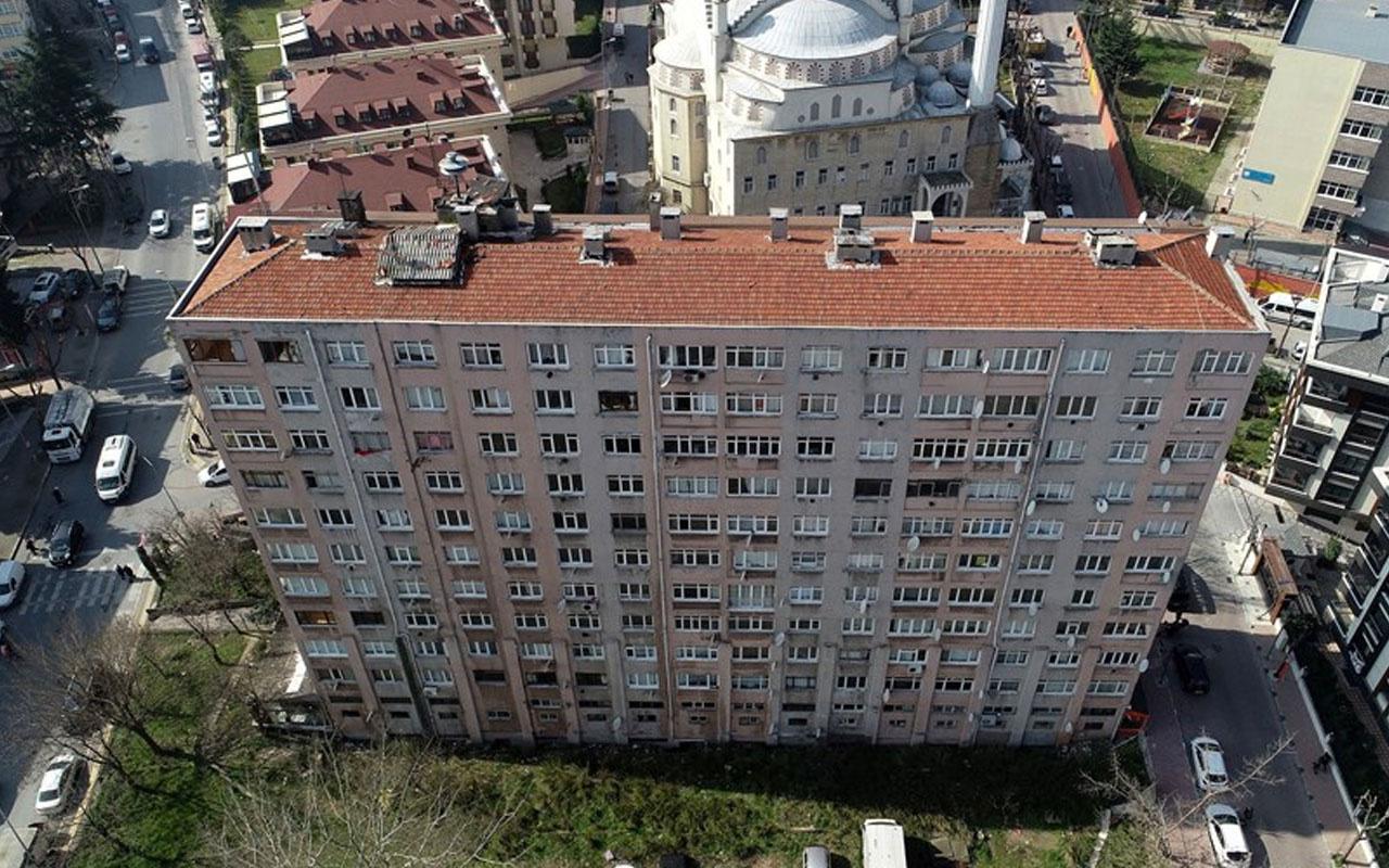 11 katlı apartman için sürpriz karar