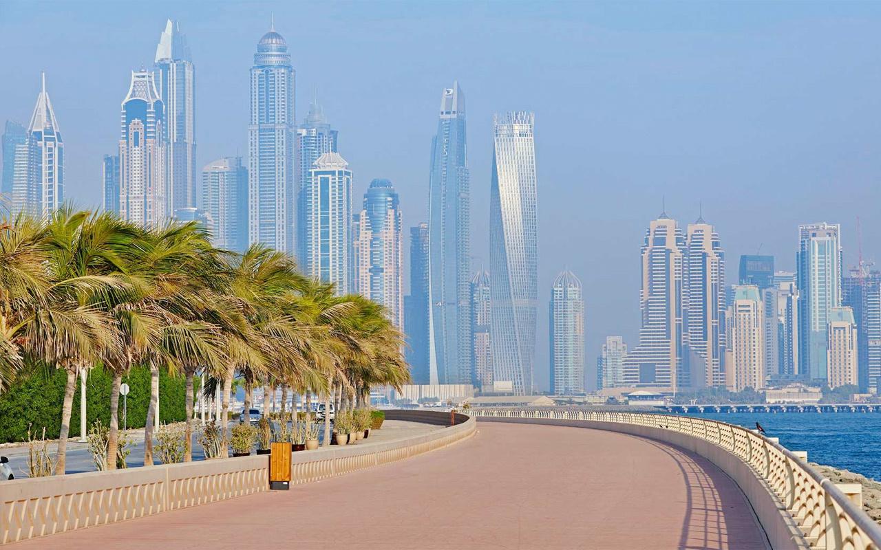 Dubai'de emlak fiyatları hızla düşüyor>