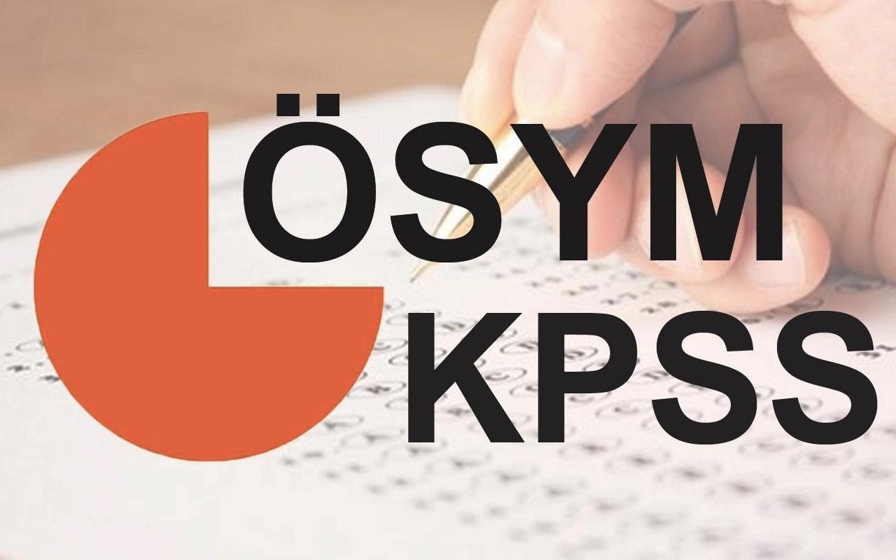 KPSS 2019 ne zaman ÖSYM KPSS sınav takvimi yayınladı