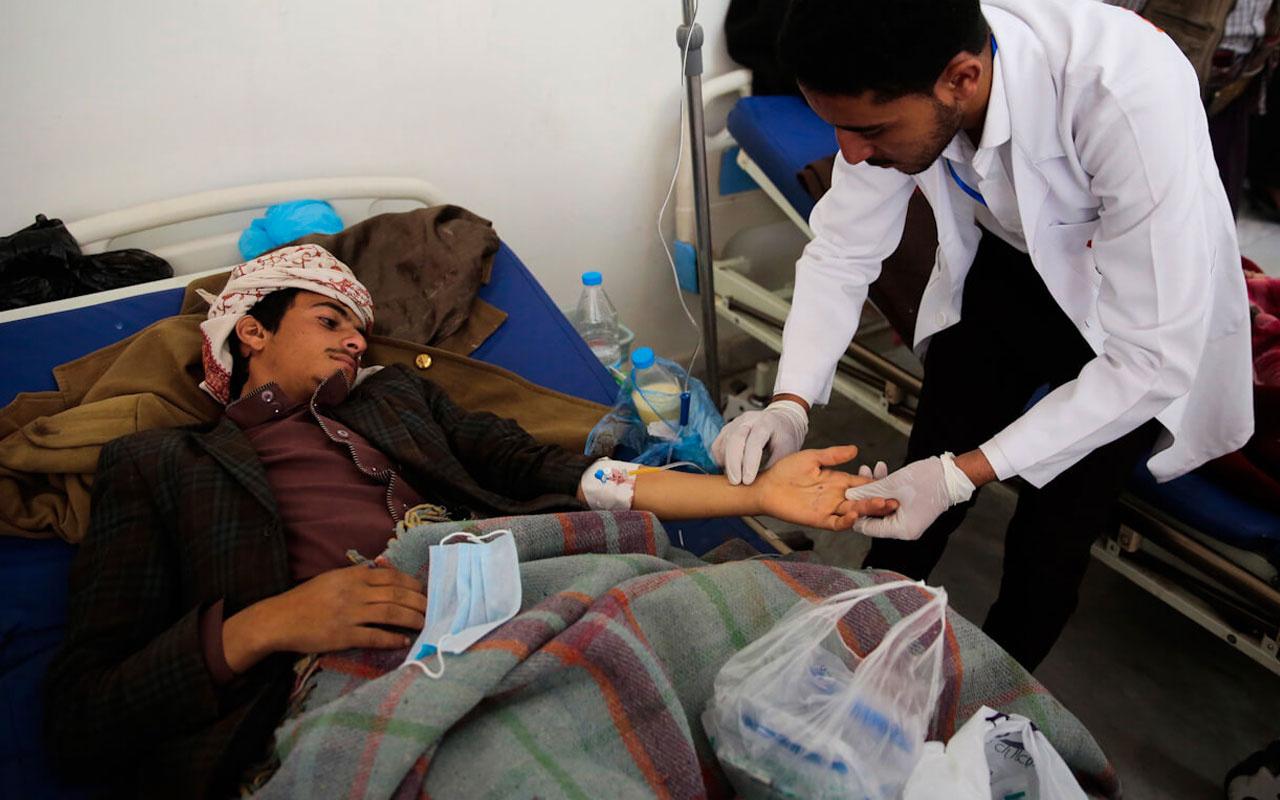 İç savaşla uğraşan Yemenlileri domuz gribi korkusu sardı
