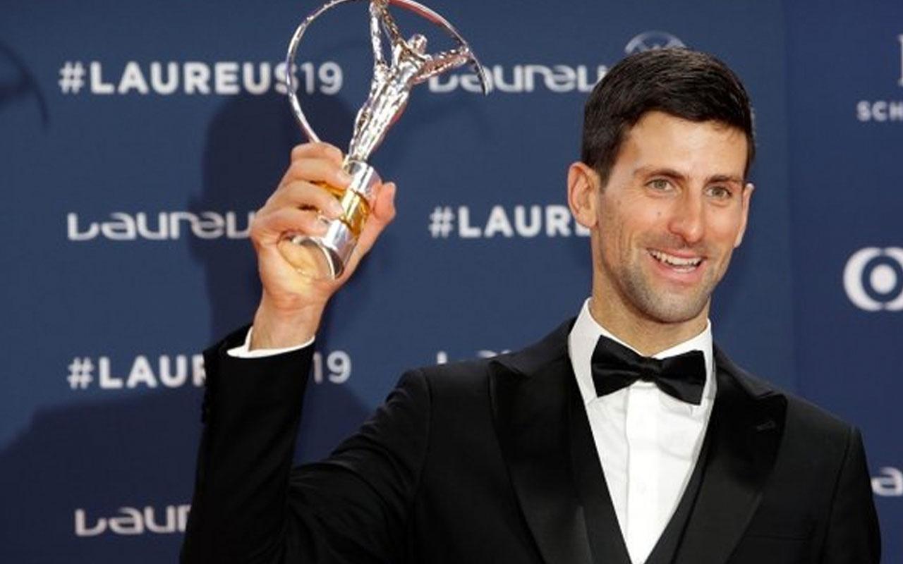 Yılın sporcusu Novak Djokovic