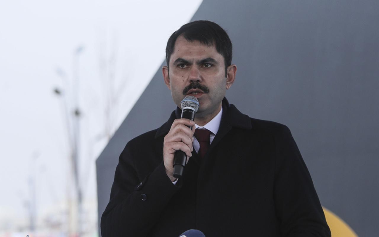 Erdoğan talimatı verdi Murat Kurum açıkladı>