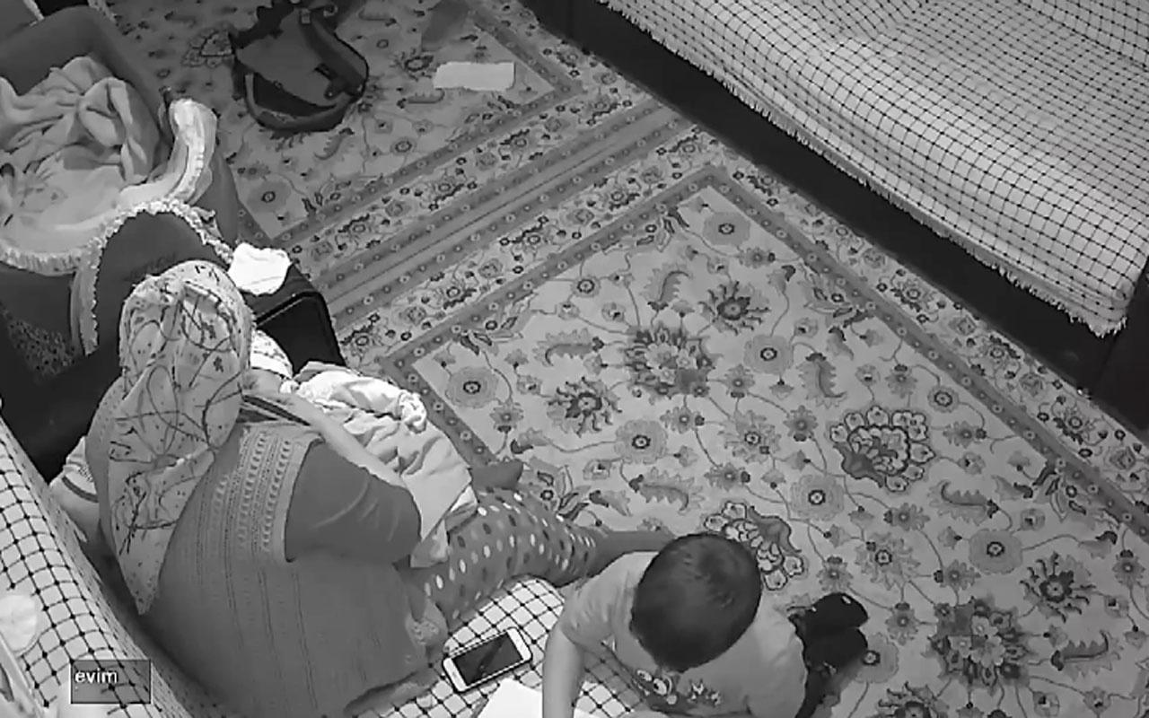 Çanakkale Ayvacık'taki deprem anı kameralarda büyük panik