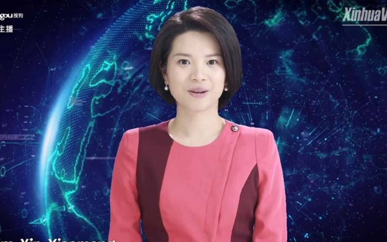 Çin Dünya'nın yapay zekalı ilk kadın haber sunucusunu tanıttı