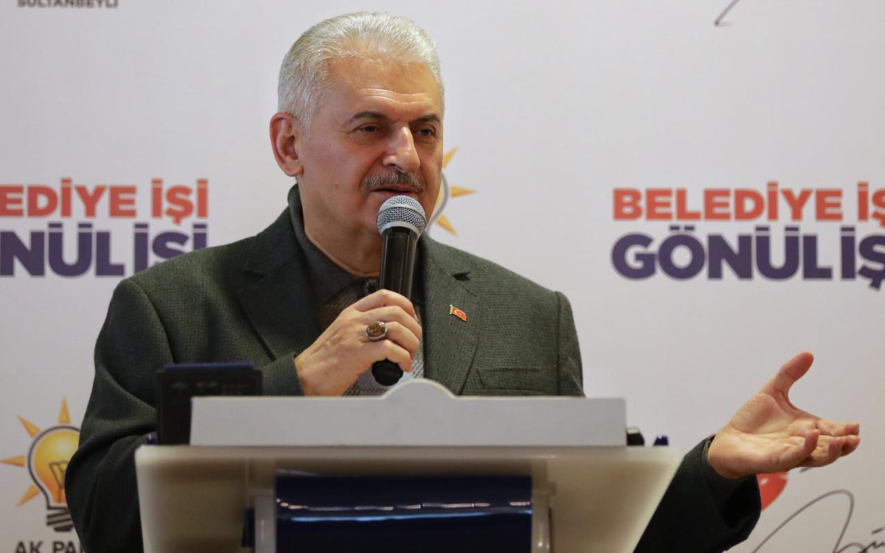 Binali Yıldırım Sultanbeyli'de açıkladı  15 farklı yere kurulacak