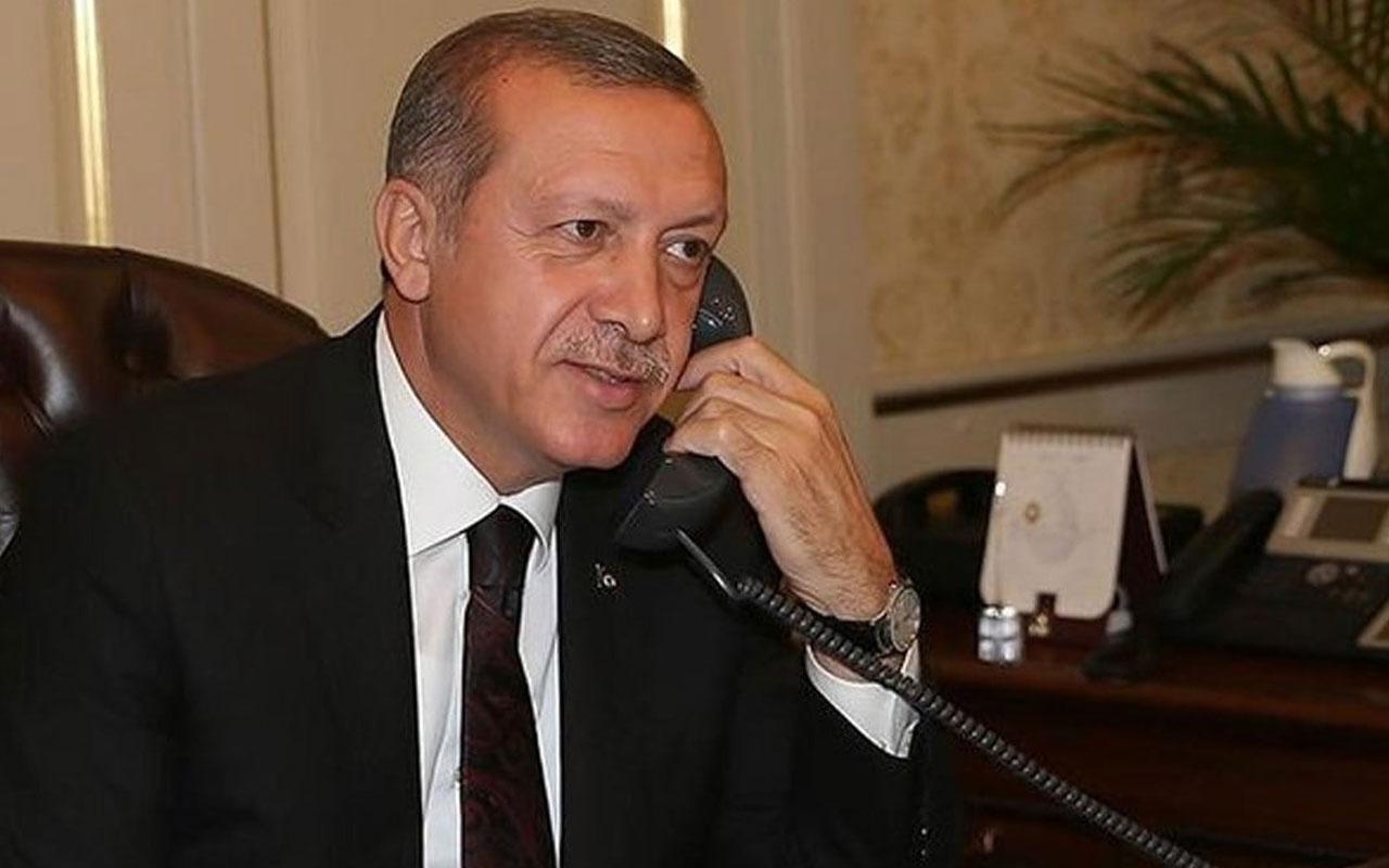 Cumhurbaşkanı Erdoğan ile Trump görüştü>