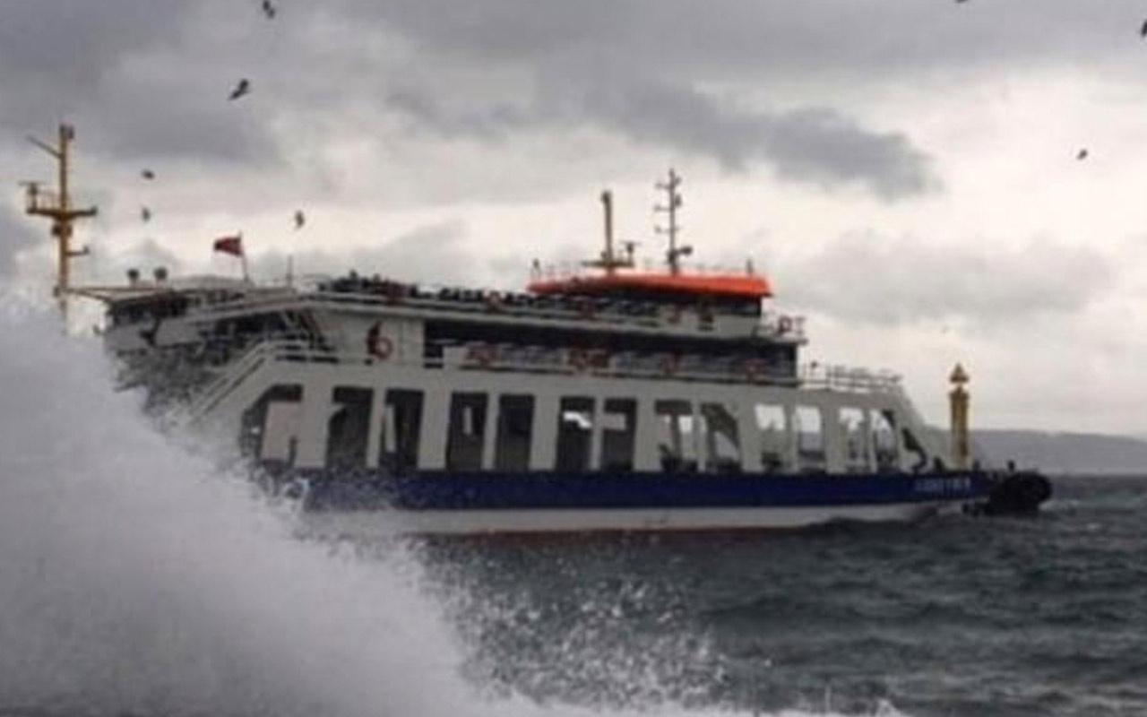 İstanbul'da hava muhalefeti alarmı! İDO ve BUDO'da bu seferler iptal