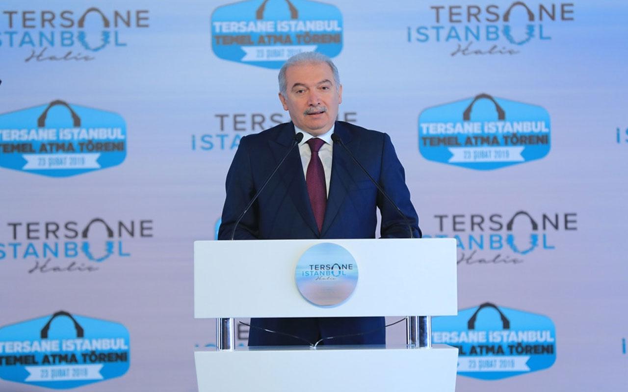 Uysal: Tersane İstanbul Haliç'i yeniden cazibe merkezi yapacak...