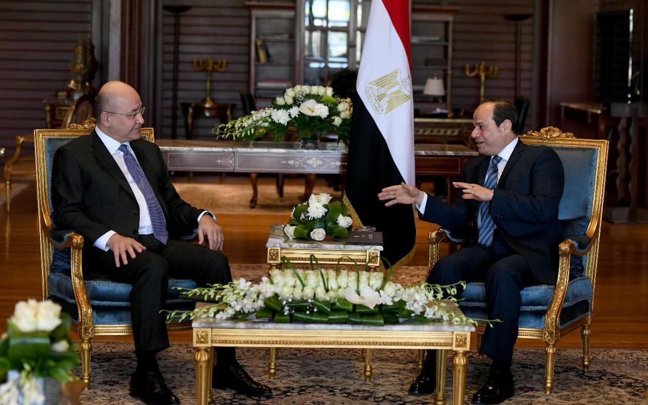 Salih ile Sisi görüşmesinde 'bayrak krizi' tartışması