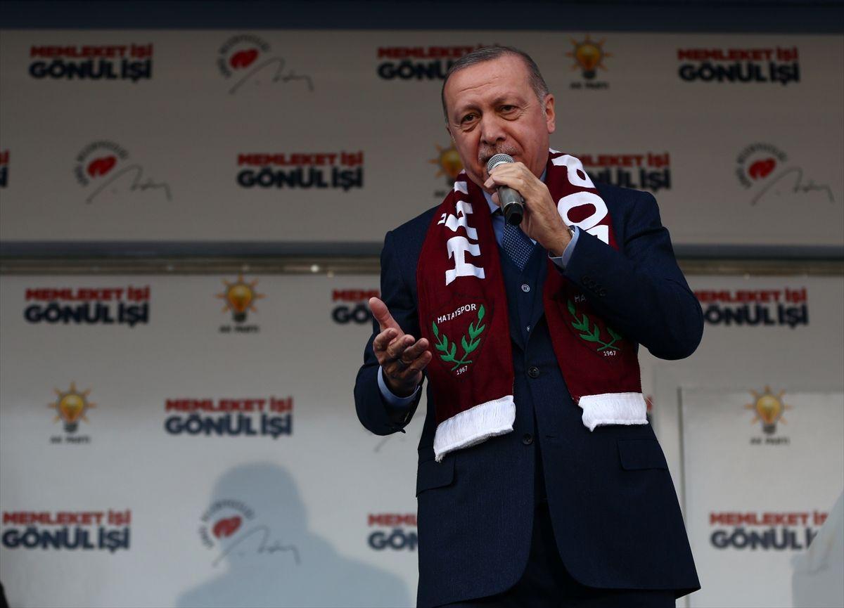 Hatay'da Erdoğan çoşkusu