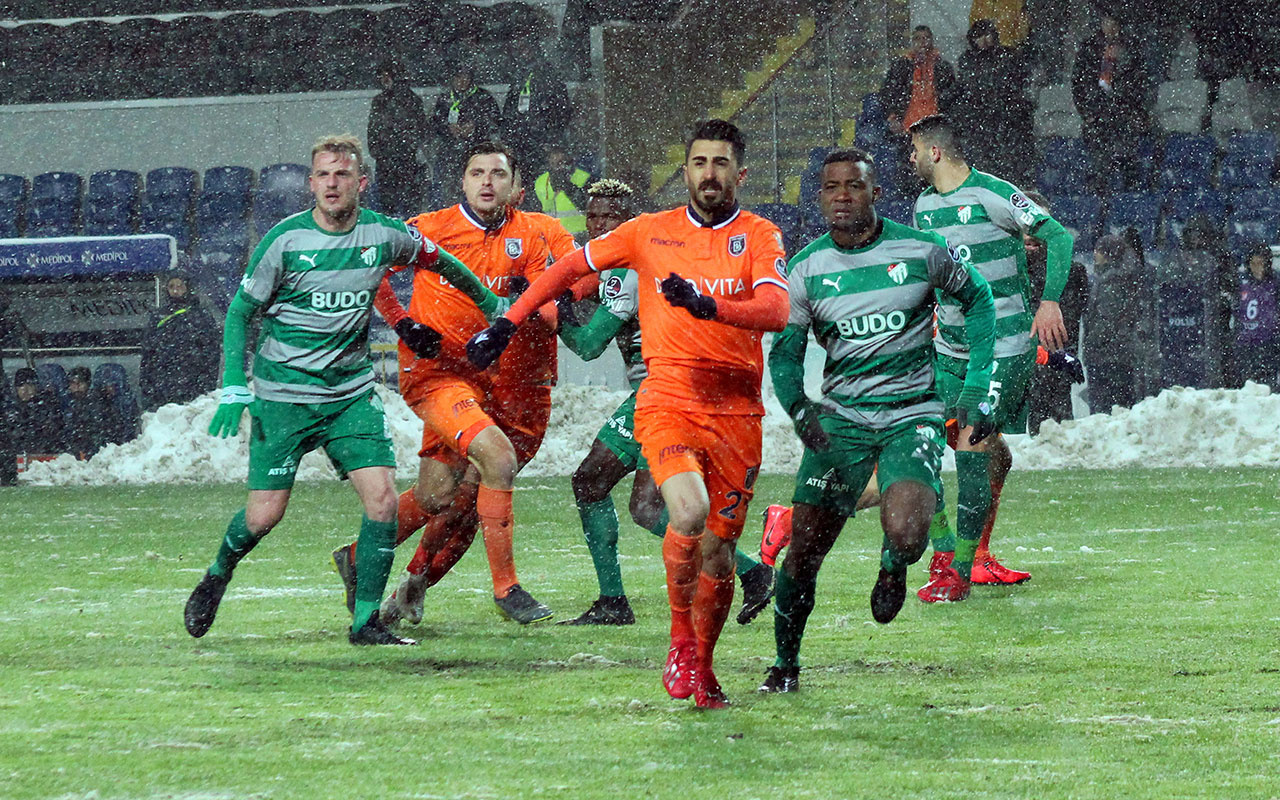 Başakşehir Bursaspor maçı golleri ve geniş özeti