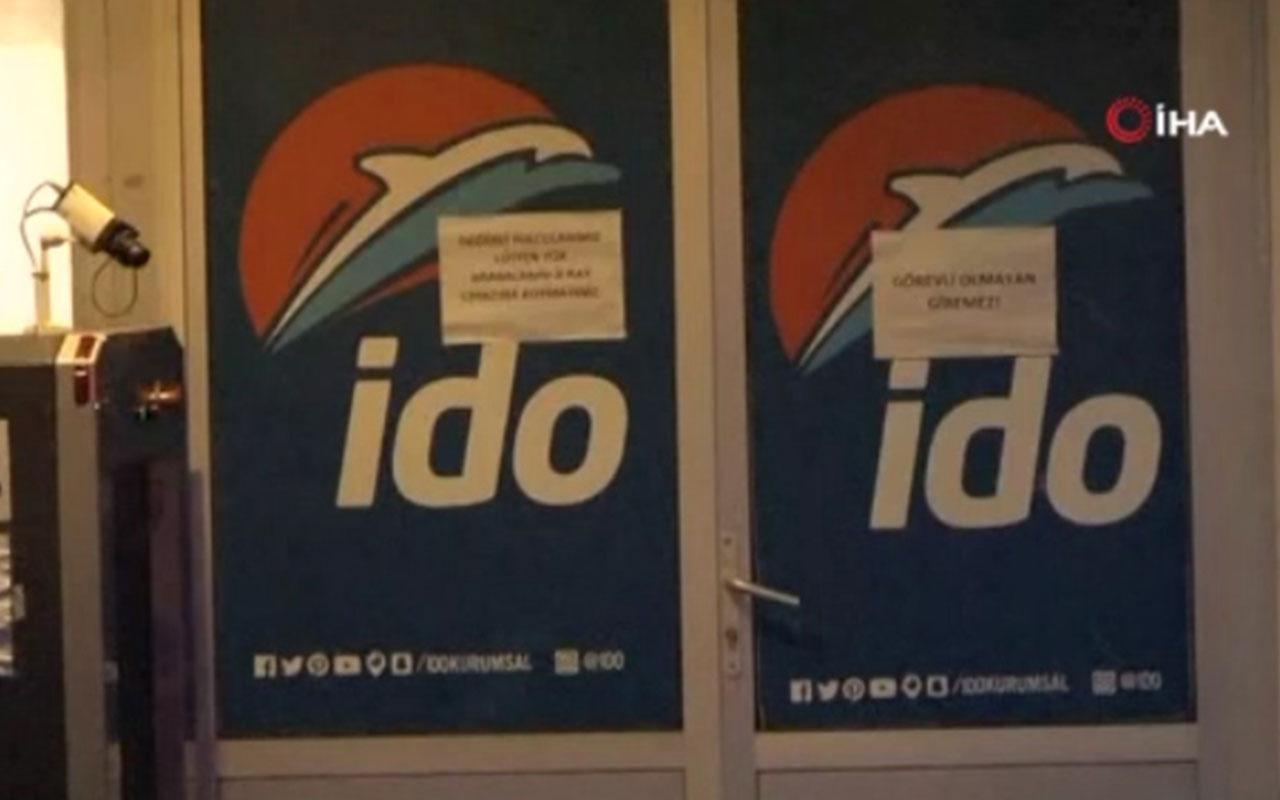 İDO ve BUDO'da sefer iptalleri var