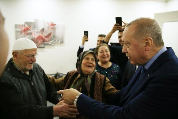 Erdoğan, Öngeç ailesine misafir oldu - Sayfa 1