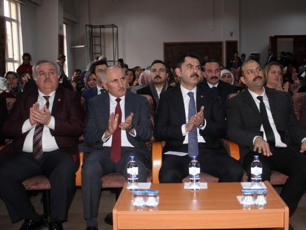 Bakan Kurum: Türkiye'mizin 'Ulusal Stratejik Planı' olacak
