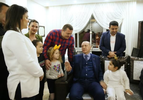 Erdoğan, Öngeç ailesine misafir oldu - Sayfa 2