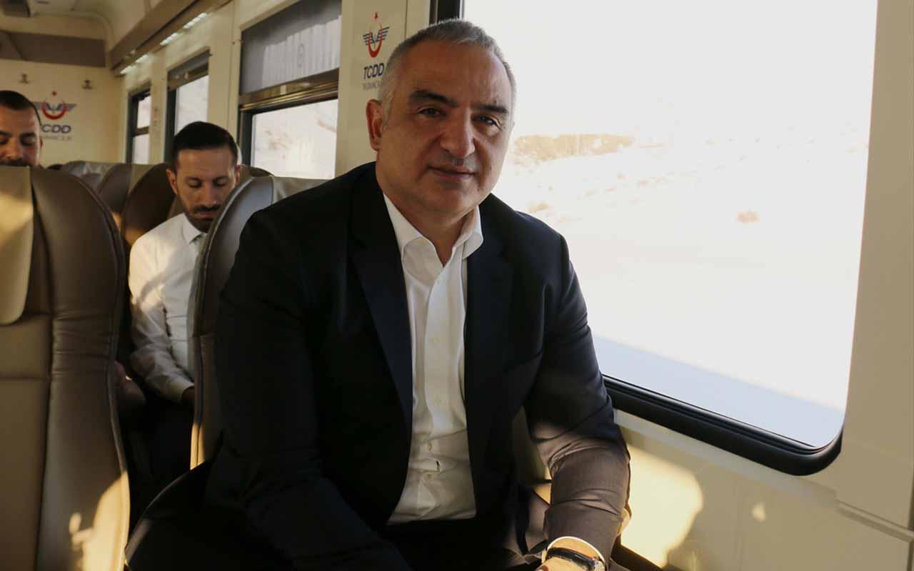 """Bakan Mehmet Nuri Ersoy """"Doğu Ekspresi için yeni bir güzergah geliyor!"""""""