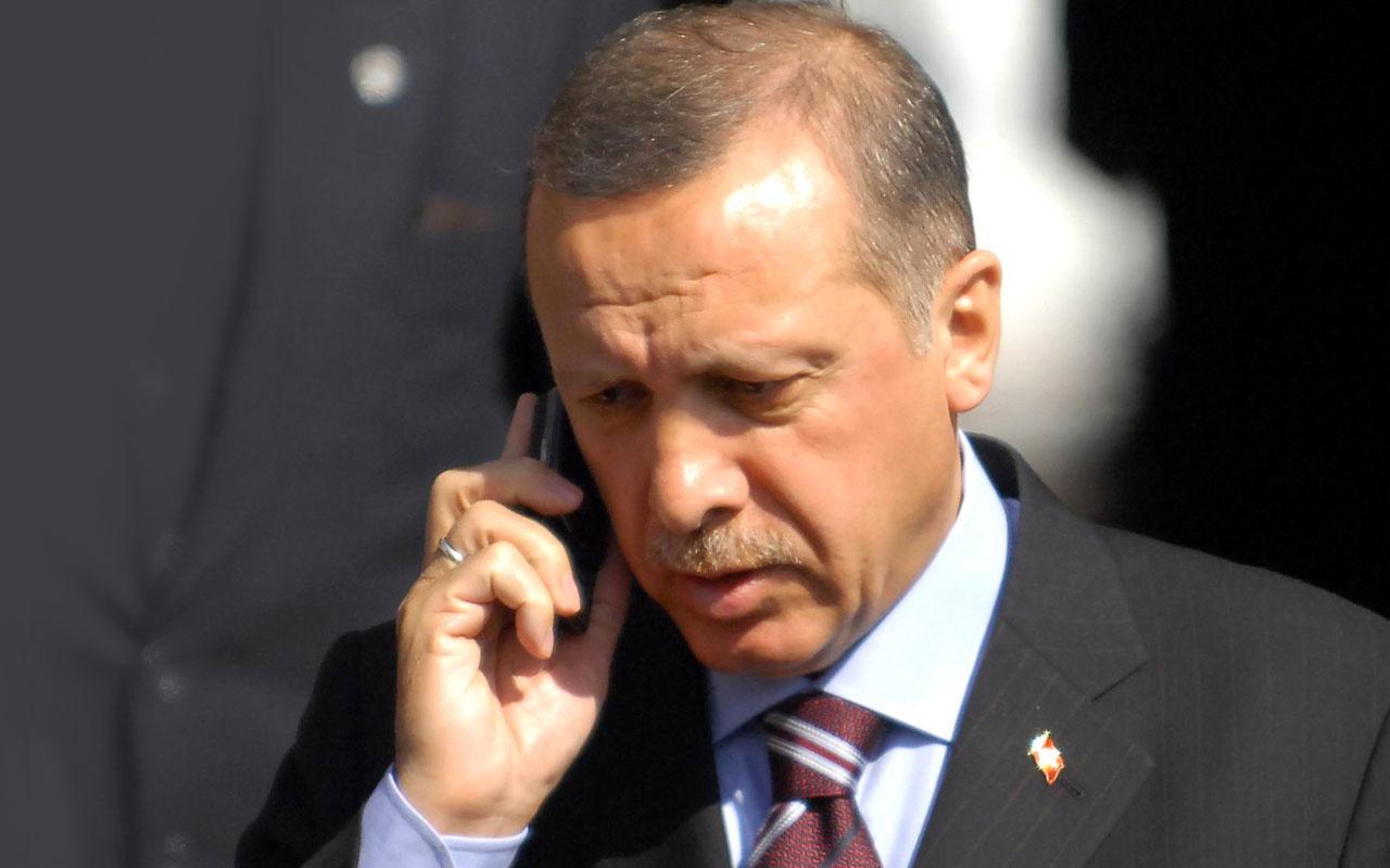 Erdoğan ile Mustafa el-Kazımi telefonla görüştü