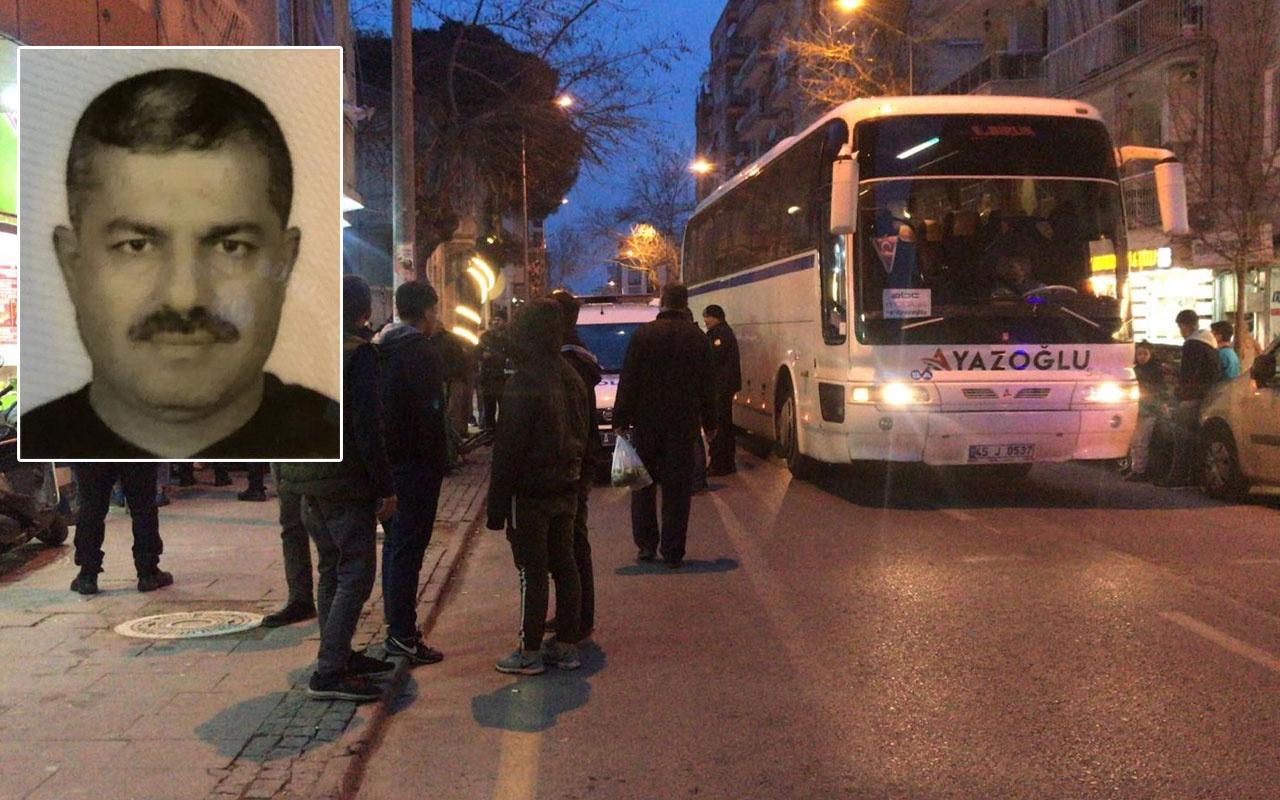 Balıkesir'de dehşet! Önce ortağını vurdu ardından otobüs şoförü ve muavini rehin aldı
