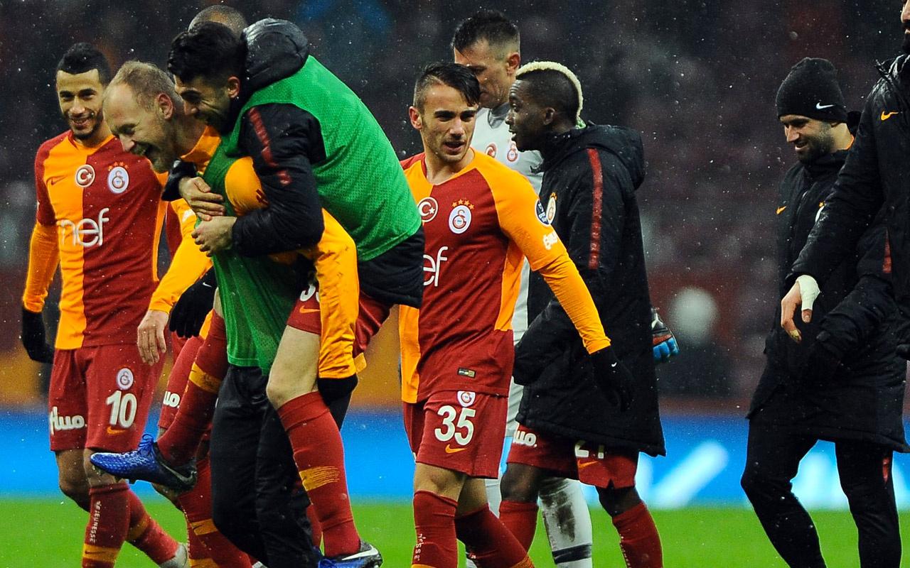 Galatasaray'da 8 futbolcu kadroya alınmadı
