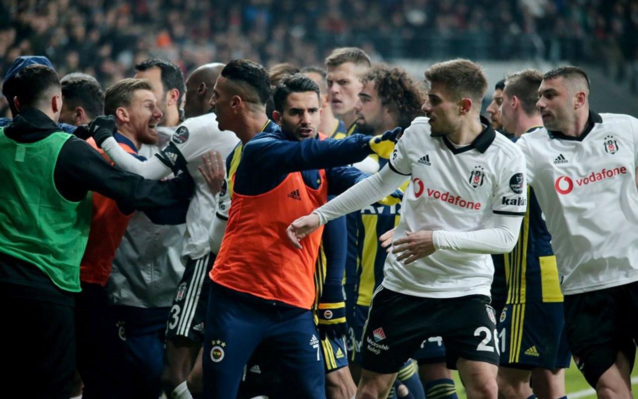 Beşiktaş ve Fenerbahçe PFDK'ya sevk edildi