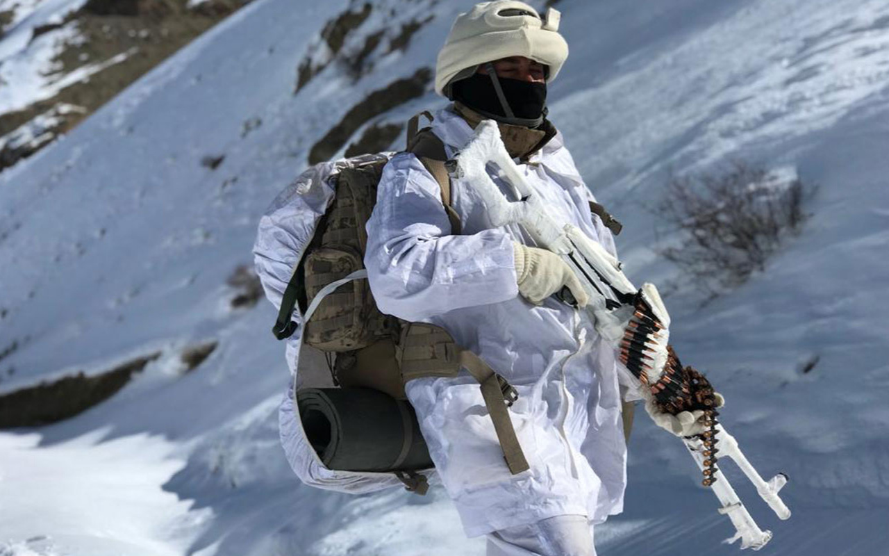 Van Başkale kırsalında PKK'ya darbe