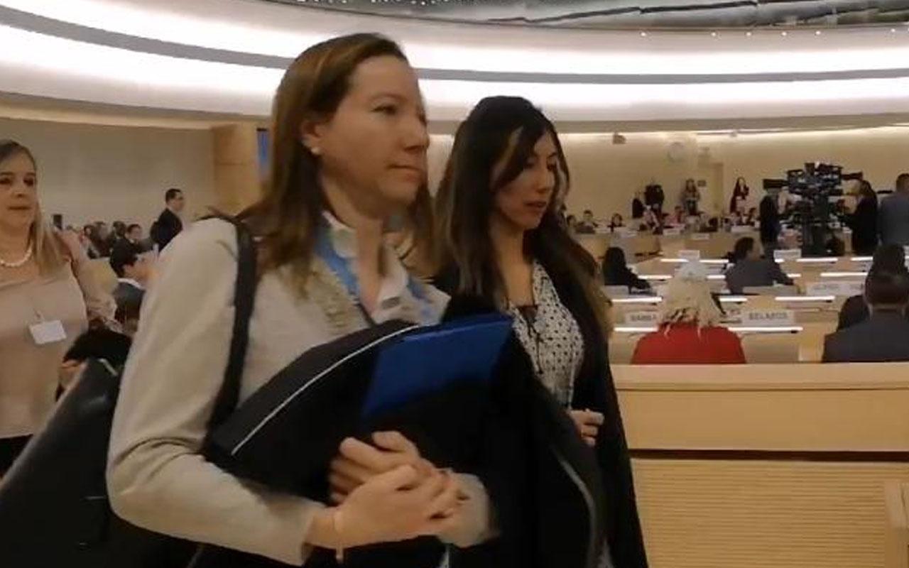 Birleşmiş Milletler'de protesto! Diplomatlar salonu terk etti