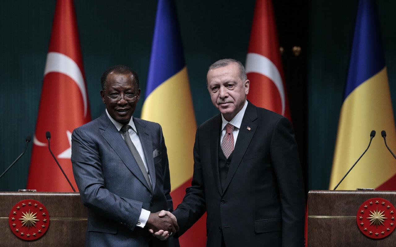 Erdoğan: Çad ve Afrika ülkeleriyle iş birliğini ileriye taşıyacağız