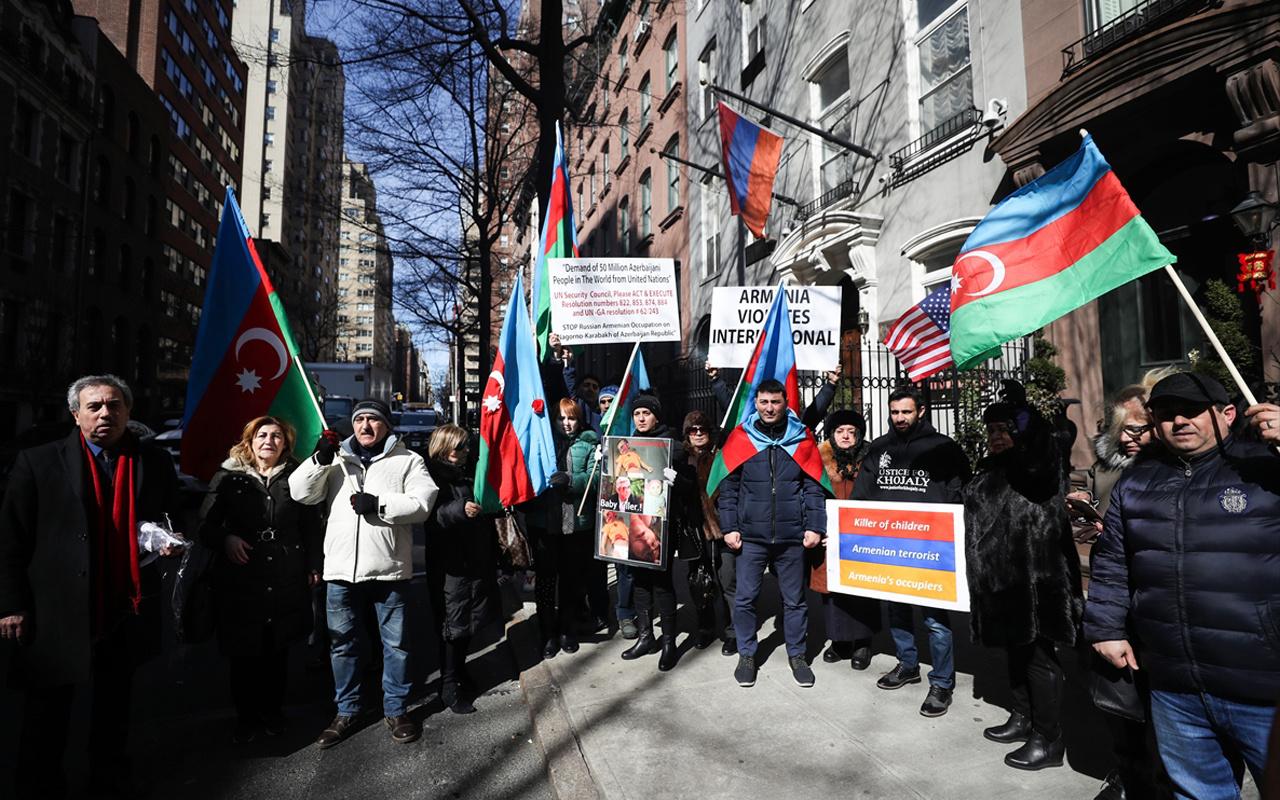 Hocalı Katliamı 27. yılında New York'ta protesto edildi