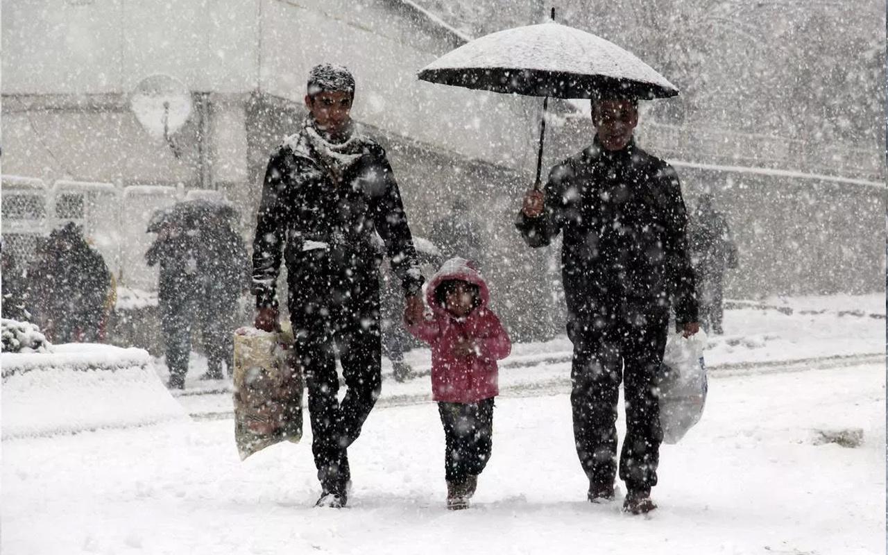 Bursa kar başladı haritalı hava durumu tahmini kaç gün sürecek?