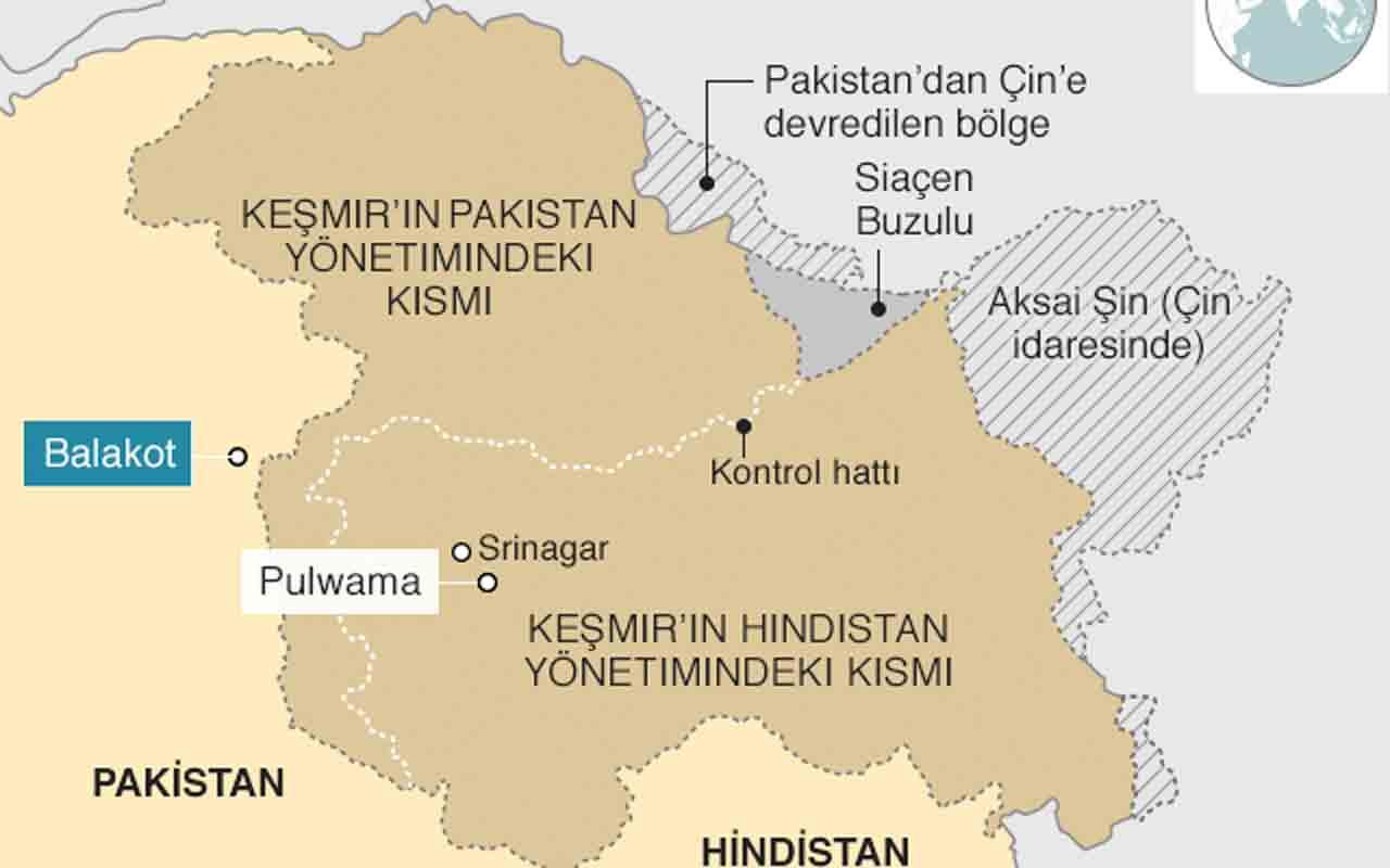 Keşmir nerede haritasına bakın! Prens parayla Hindistan'a satmış