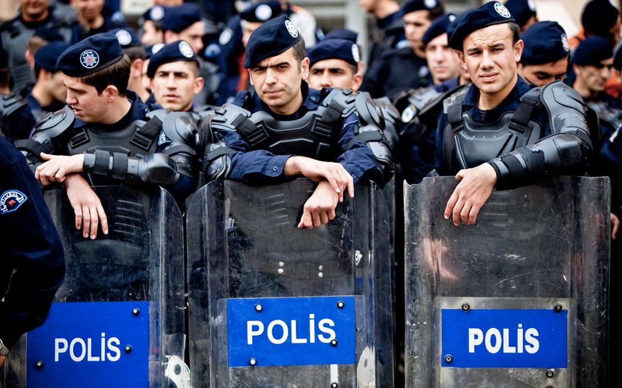 İstanbul'da 2 bin polise şark tayini