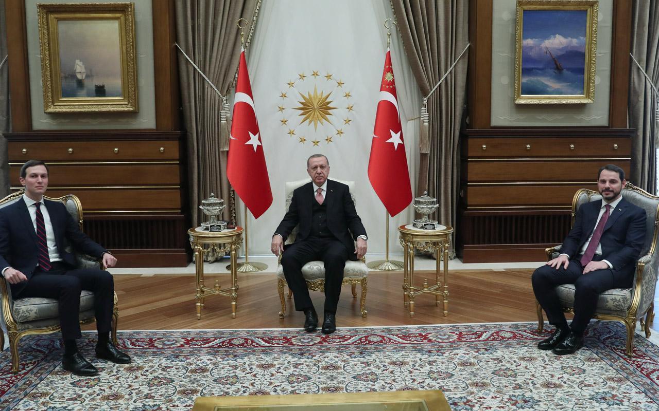 Erdoğan Jared Kushner'i kabul etti