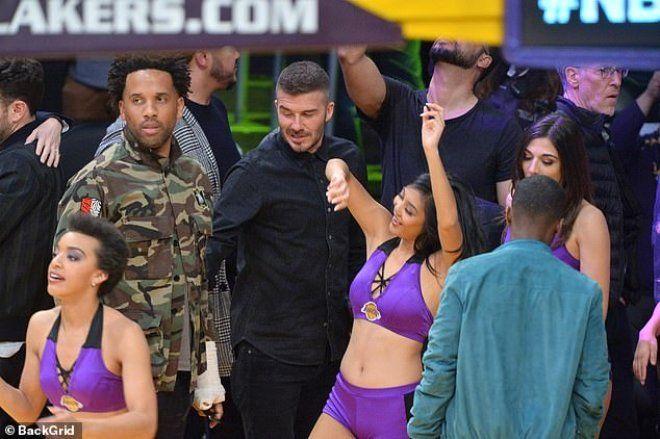 David Beckham, amigo kızlardan gözlerini alamadı - Sayfa 5