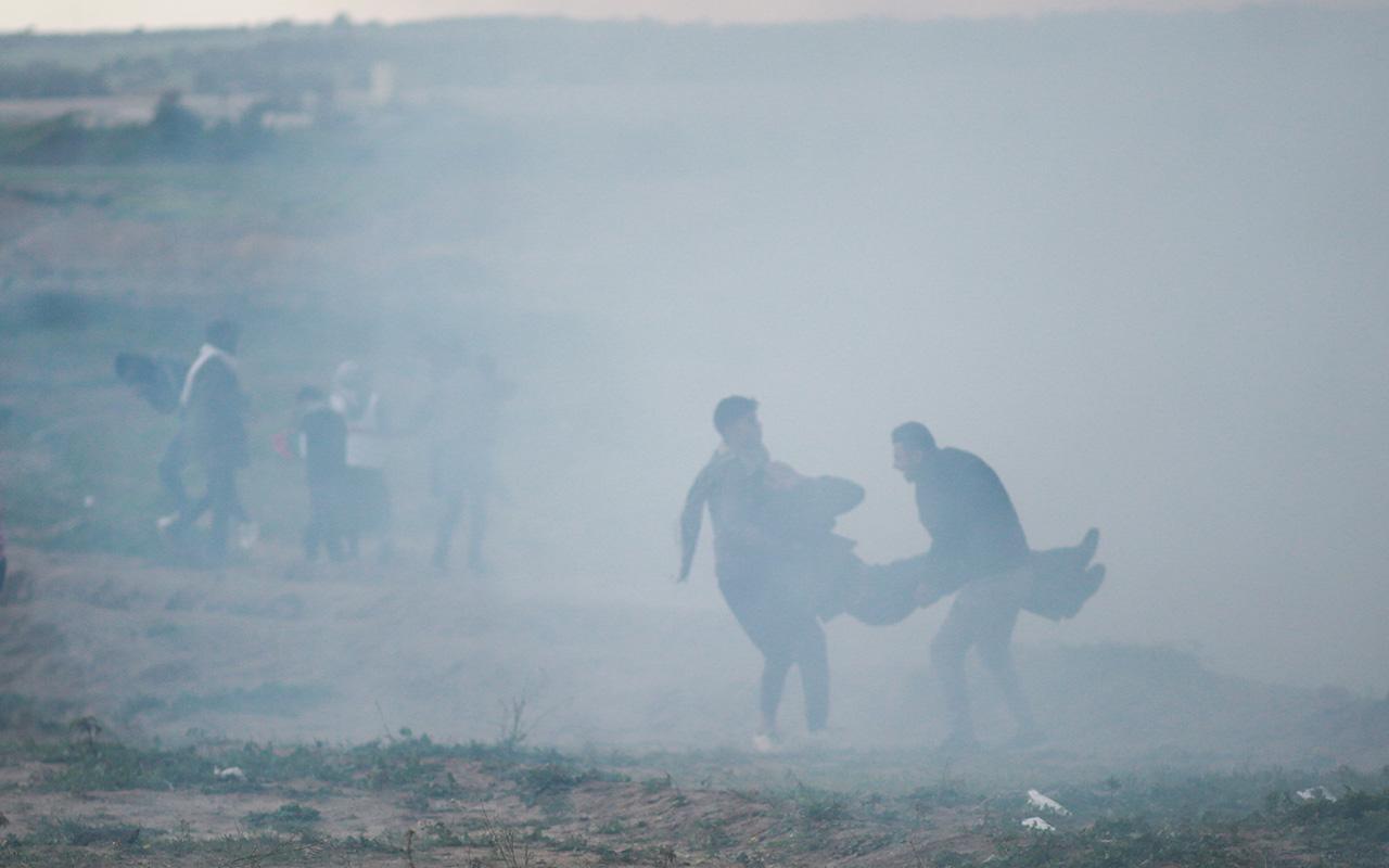 Gazze'de İsrail zulmü devam ediyor!
