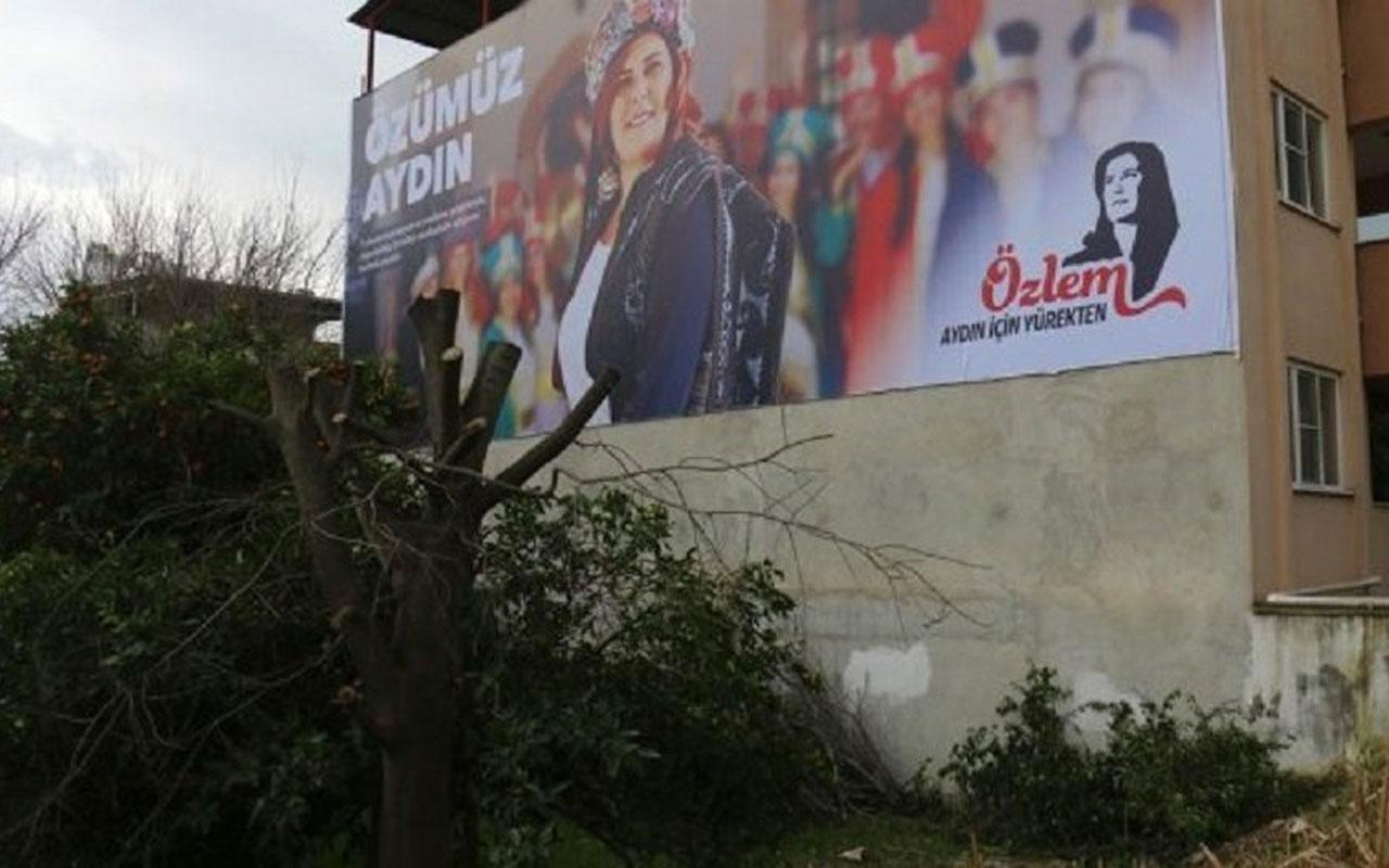 Aydın'da Özlem Çerçioğlu tüm bilboardları kapattı CHP böyle savundu