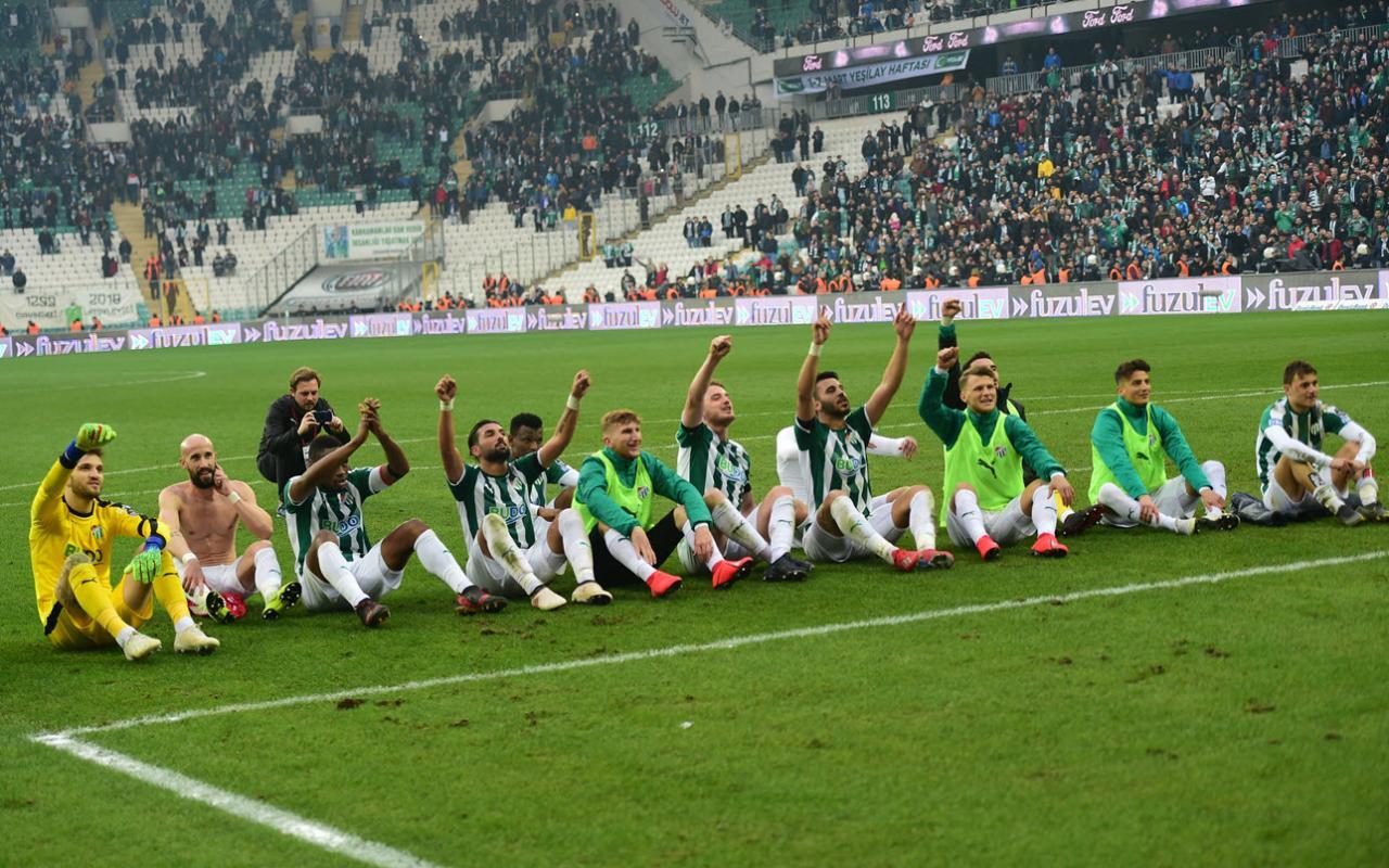 Bursaspor'da büyük sevinç