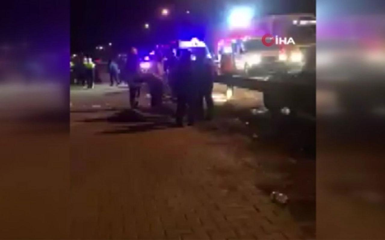 Deplasman dönüşü otobüs devrildi iki Ankaragücü taraftarı öldü