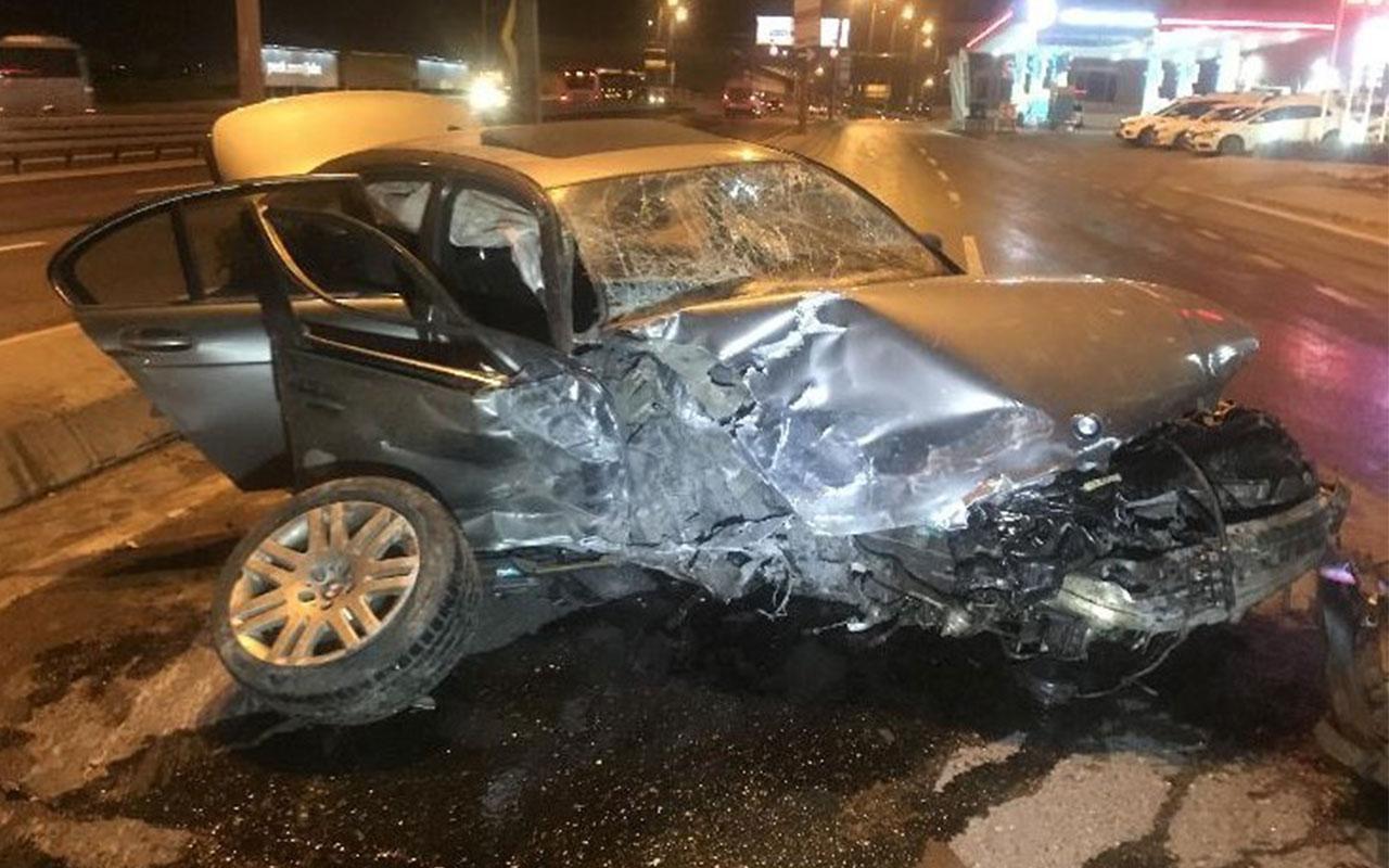 Esenyurt'ta feci kaza! 4 yaralı