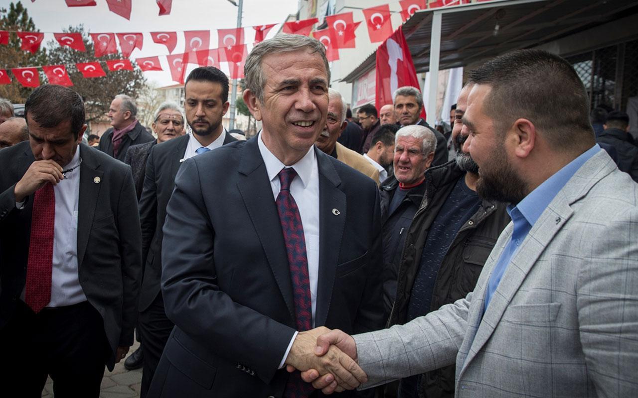 """Mansur Yavaş: """"6,5 yıl muhalefette çalıştım Erdoğan'dan para aldım"""""""
