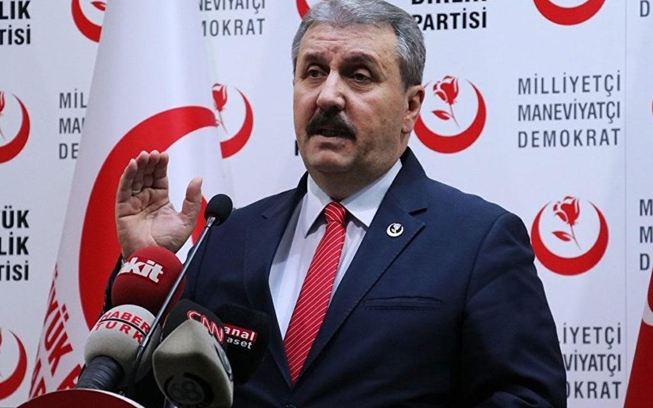 BBP Genel Başkanı Mustafa Destici kaza atlattı