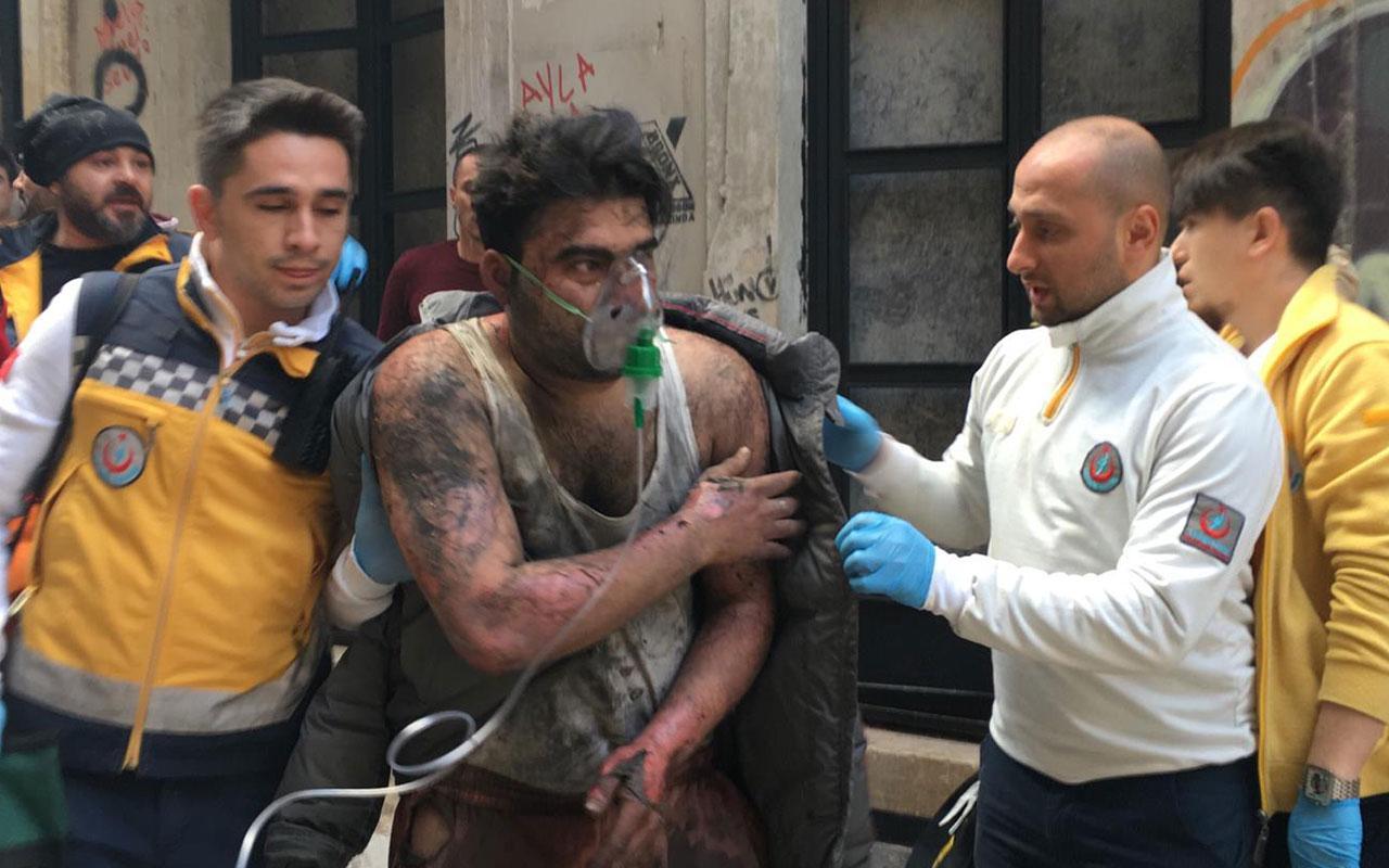 Beyoğlu'nda korkutan yangın! 4 kişi öldü