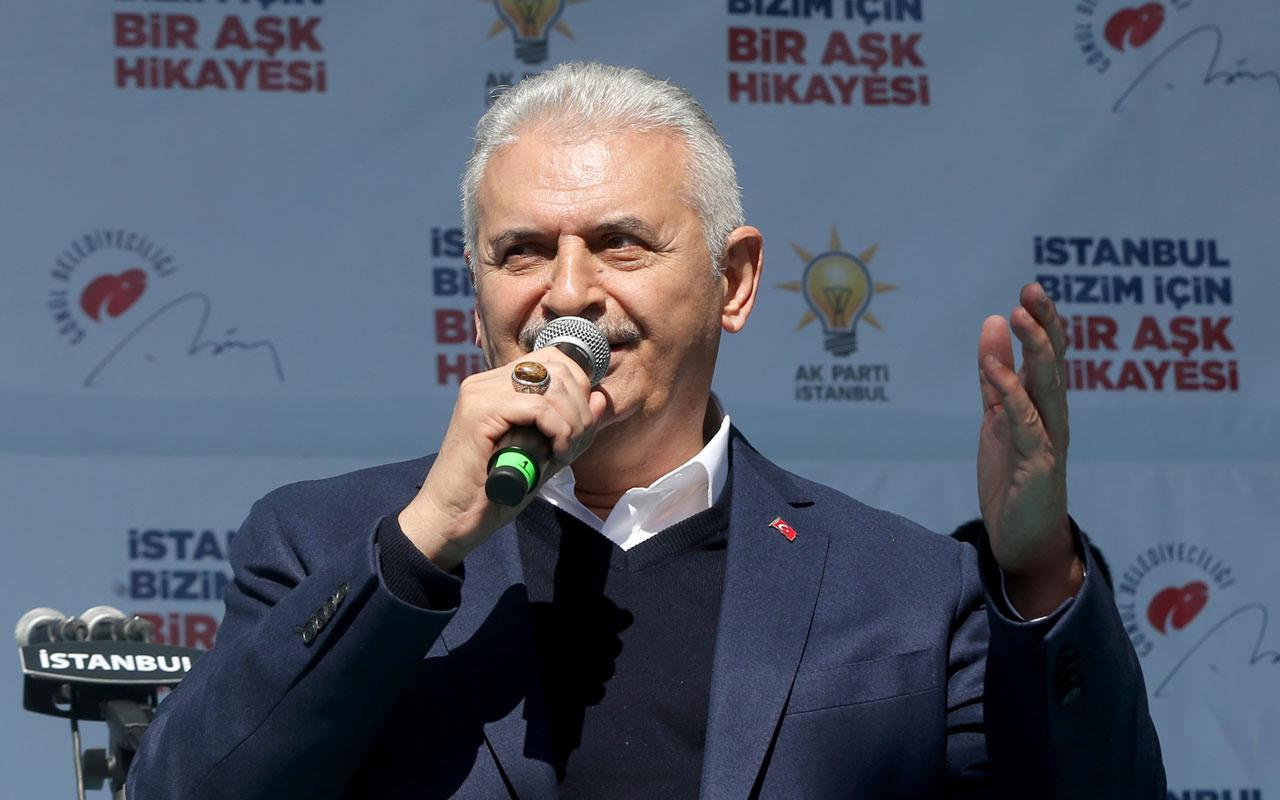 AK Partili Binali Yıldırım'dan Kağıthane'ye metro sözü