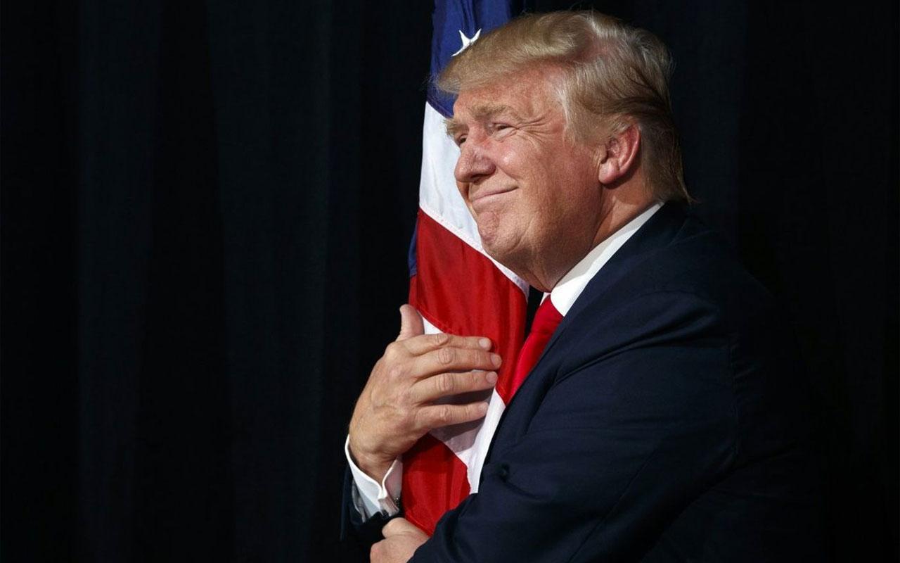 ABD Başkanı Trump'tan montajlı paylaşım