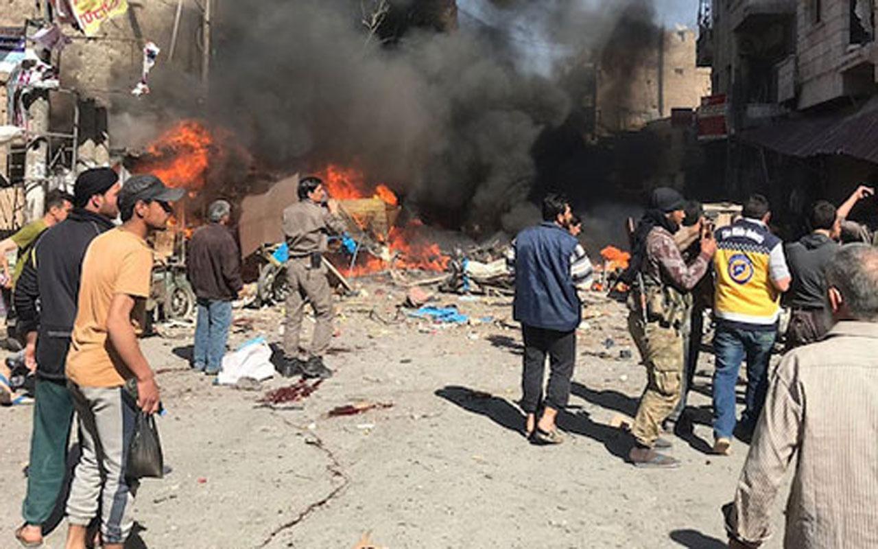 El Bab'tan son dakika patlama haberi!  Çok sayıda yaralı var