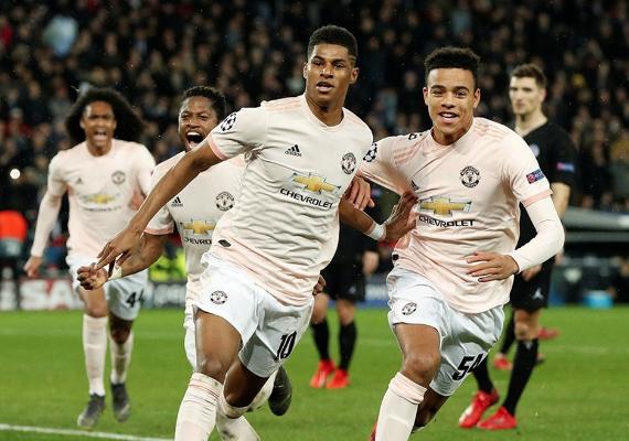 Manchester United'dan tarihi geri dönüş! PSG'yi paramparça etti