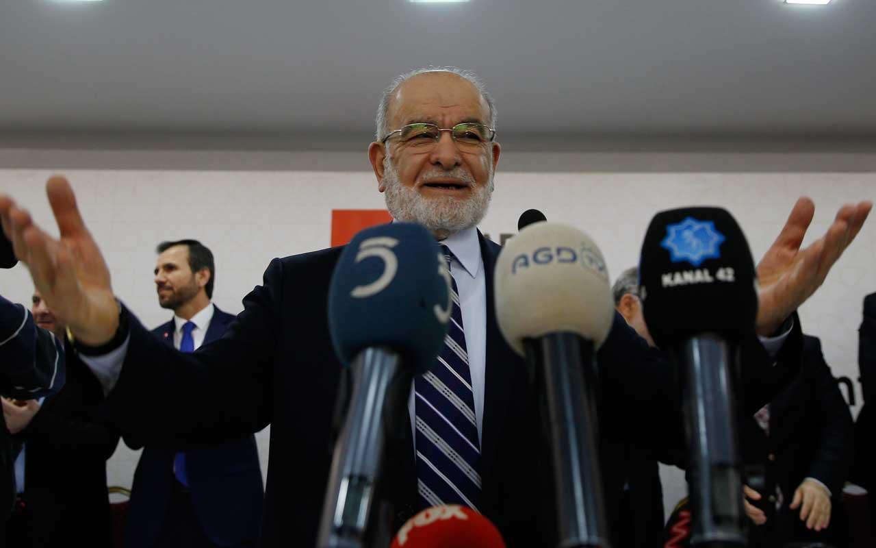 Saadet Partililer Ekrem İmamoğlu'na oy verdi mi Temel Karamollaoğlu açıkladı