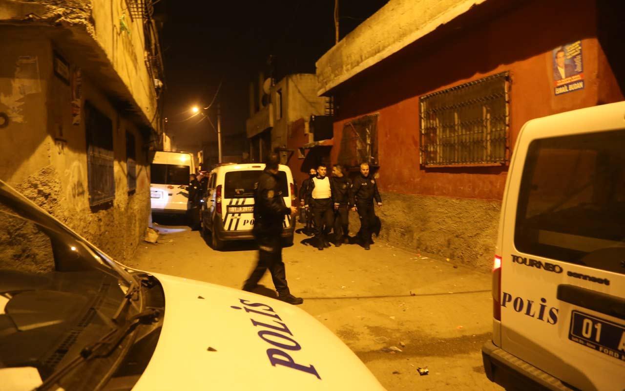 Adana'da maskeli silahlı 5 kişi polisi alarma geçirdi
