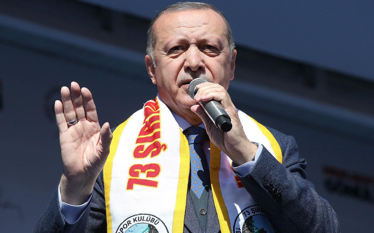 """Erdoğan:  """"Adamın ciğerlerinde böyle bir şefkat yok ki"""""""