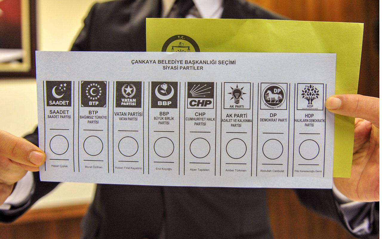 CHP'ye mühür basılmış sahte oy pusulası ele geçirildi
