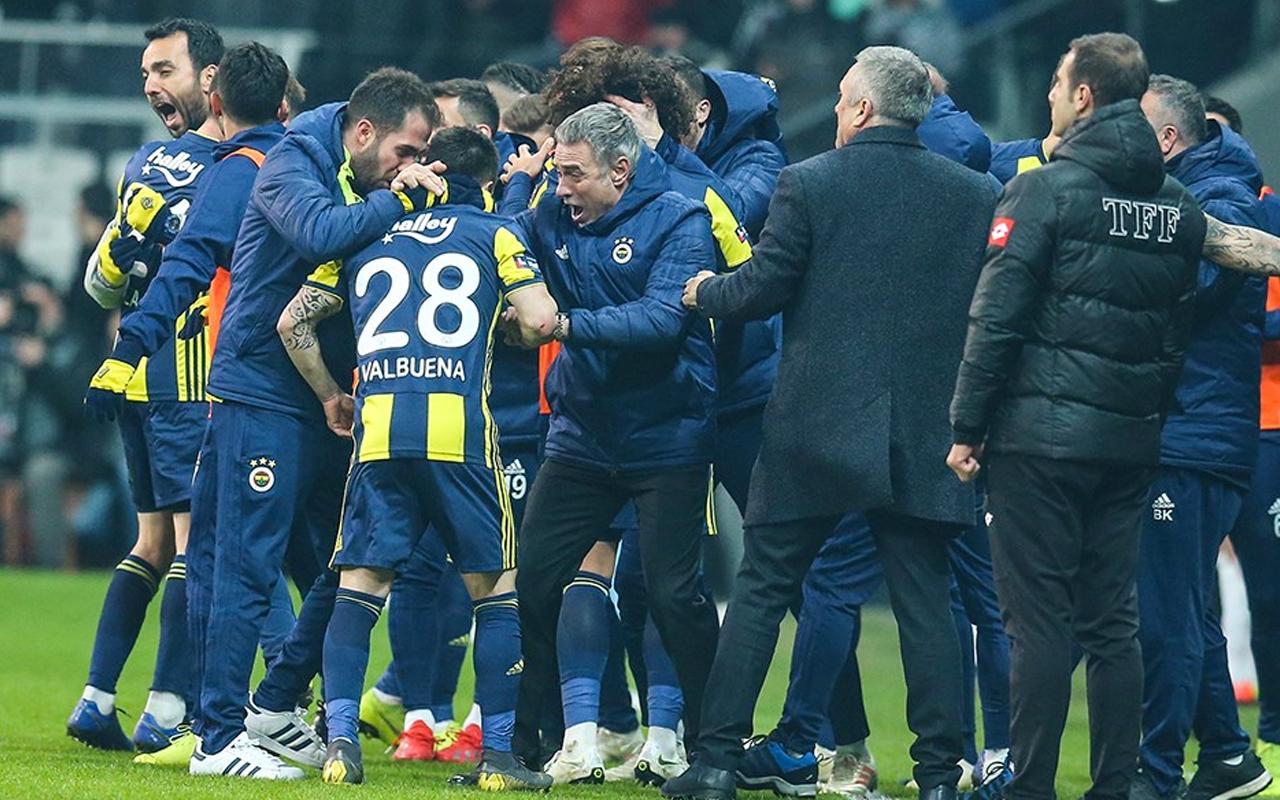 Fenerbahçe'nin 4 galibiyete ihtiyacı var